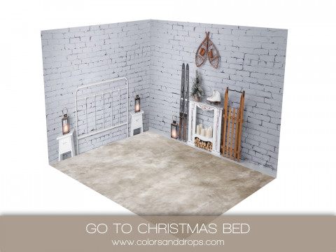 ROOM  - GO TO CHRISTMAS BED (sol berenice)