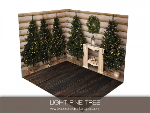ROOM  - LIGHT PINE TREE  (sol rodeo)