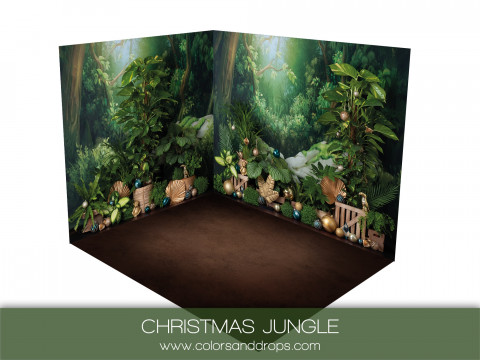 ROOM  - CHRISTMAS JUNGLE  (sol brownie)